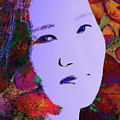 Psychedelic Woman by Thomas Morris