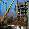 Psycho Plovdiv Crane by John A B Lansdown