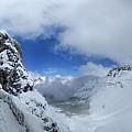 Ptarmigan Pass Tunnel North - Glacier National Park by Bruce Lemons