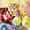 Pudsey And Truffle Mcfurry For Children In Need by Miki De Goodaboom