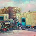 Pueblo Baker by Sally Seago