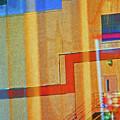 Pueblo Downtown Reflection 2 by Lenore Senior
