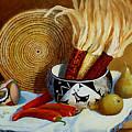 Pueblo Influence by Esther Marie Versch