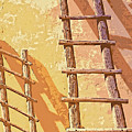 Pueblo Ladders by Dominic Piperata
