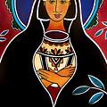 Pueblo Madonna by Jan Oliver-Schultz