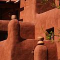 Pueblo Revival Style Architecture II by Susanne Van Hulst