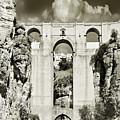 Puente Nuevo Tajo De Ronda Andalucia Spain Europe by Mal Bray