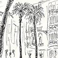 Puerta Del Mar In Malaga by Chani Demuijlder