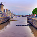 Puerto Madero Canal by Francisco Colon
