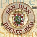 Puerto Rico Coat Of Arms by Debbie DeWitt