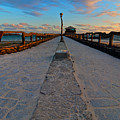 Puerto Villamil Pier Galapagos by Andre Distel