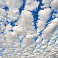 Puffy Clouds And Blue Sky by Bill Brennan - Printscapes