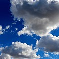 Puffy Sky - 2 by Christy Pooschke