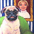 Pug - Beth Ann And Butch by Rebecca Korpita