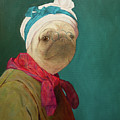 Pugdin Self-portrait by Yuliia Ustymenko
