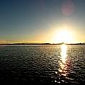 Puget Sound Sunset 3 by Katy Granger