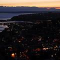 Puget Sound Sunset by David Lee Thompson