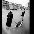 Pulling Dead Body Siege Of Leningrad Soviet Union 1941 by David Lee Guss