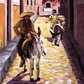 Pulling Up The Rear In Mexico by Nancy Griswold