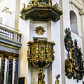 Pulpit Kalmar Cathedral by Roberta Bragan