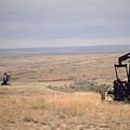 Pump Jacks Pump Oil In Rural Perryton by Joel Sartore