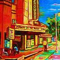Pumperniks And The Snowdon Theatre by Carole Spandau