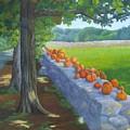 Pumpkin Muster by Sharon E Allen