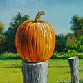 Pumpkin Post by Arnold Hurley