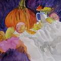 Pumpkin Still Life by Beverley Harper Tinsley