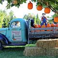 Pumpkin Truck by Steve Gass