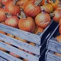 Pumpkins Two by Constance Drescher