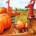 Pumps And Pumpkins by Karen Stark