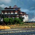 Punakha Dzong by Michael Morrissey