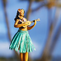 Punaluu, Hula Doll by Greg Vaughn - Printscapes