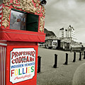 Punch And Judy Theatre On Llandudno Promenade by Mal Bray