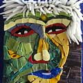 Punk - Fantasy Face No. 18 by Gila Rayberg