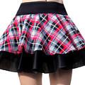 Punk Style Mini Skirt - Ameynra Fashion by Sofia Metal Queen