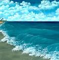 Punta Cana Beach by Anastasiya Malakhova