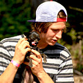 Puppy Lick by Rasma Bertz