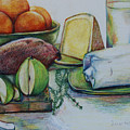 Purchases From The Farmers Market by Anna Mize Bell