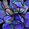 Purple Agave by Maggie Turner