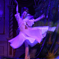 Purple Ballet Dancer by Ron Morecraft