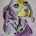 Purple Beagle by Leo Gordon