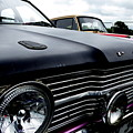 Purple, Black And Chrome by Perggals - Stacey Turner