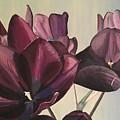 Purple Blooms Cmd1008 by Christine DuBay