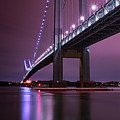 Purple Bridge by Edgars Erglis