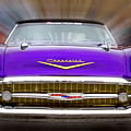 Purple Chevy by Frederic A Reinecke