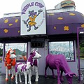 Purple Cow 1 by Ron Kandt