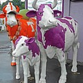Purple Cow 2 by Ron Kandt
