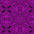 Purple Crossed Arrows Abstract by Debra Lynch